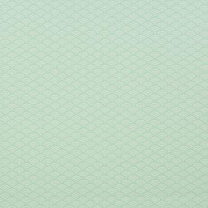 Swafing - Wachstuch Luna Muschelmuster Mint