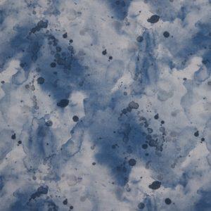 Swafing - Wachstuch Max jeansblau
