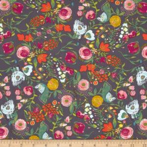 Art Gallery Fabrics - Emmy Grace - Budquette Nightfall