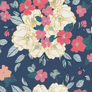 Art Gallery Fabrics - Flower Child - Flowery Chant Gentle