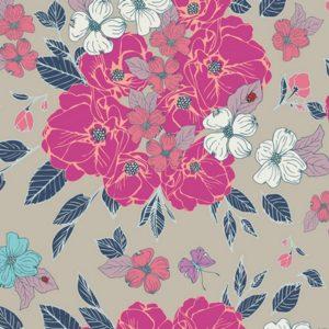 Art Gallery Fabrics - Flower Child - Flowery Chant Wild