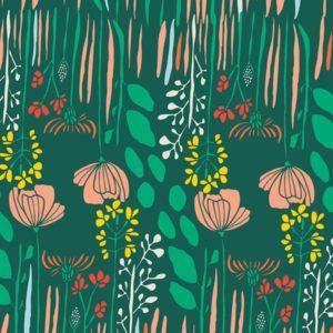 Art Gallery Fabrics - Meadow - Summer Grove by Night