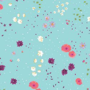 Art Gallery Fabrics - Mediterraneo - Coastal Garden Cielo