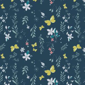 Art Gallery Fabrics - Nightfall - Magical Gust Crisp