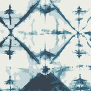 Art Gallery Fabrics - Observer - Indigo Window Crystal (V)