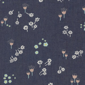 Art Gallery Fabrics - Printed Denim - Ditsy Abrasion