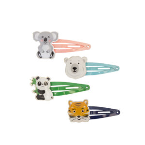 Global Affair - Hairclips Wild Animals