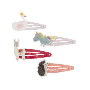 Global Affair - Hairclips Fairy Animals
