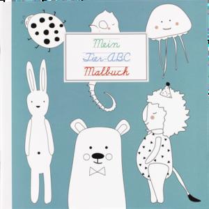 Ava&Yves - Mein Tier-ABC Malbuch