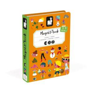Janod - Magnetic Book (4 Jahreszeiten)