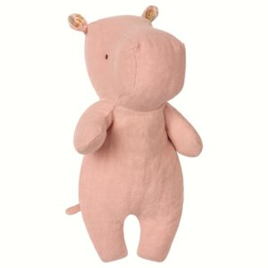 Maileg - Safari friends - Little Hippo Dusty rose