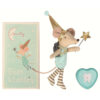 Maileg - Tooth fairy Boy with metal heart box