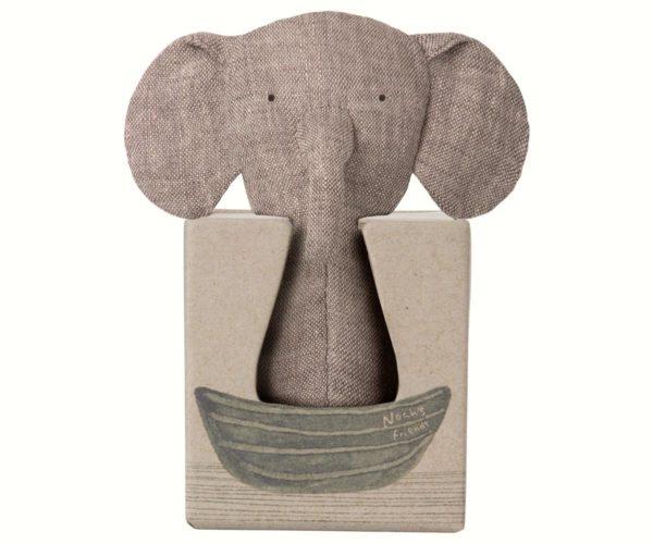 NOAH'S FRIENDS, Elephant RATTLE