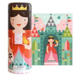 petit collage - Puzzle Spardose (Prinzessin)