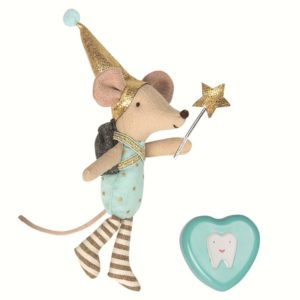 TOOTH FAIRY, BIG BROTHER MOUSE W. METAL BOX