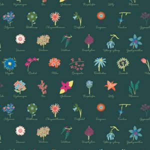 Art Gallery Fabrics - Loved to Pieces - Anthonem Festive