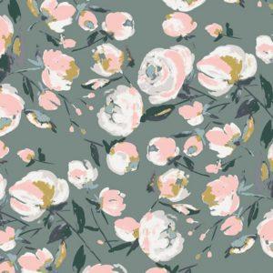 Art Gallery Fabrics - Sparkler Fusion - Everlasting Blooms Sparkler