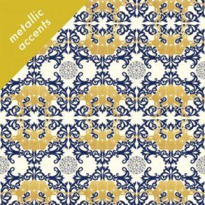 Birch Fabrics - Mod Nouveau - Horned Lace