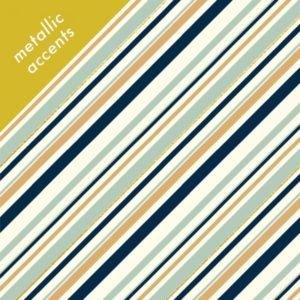 Birch Fabrics - Mod Nouveau - Stripe in mint