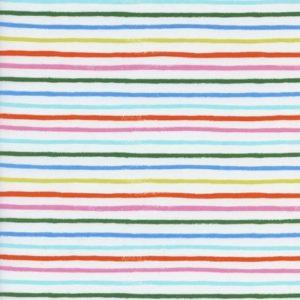 Cotton&Steel - Amalfi - Happy Stripes Cream COTTON LAWN