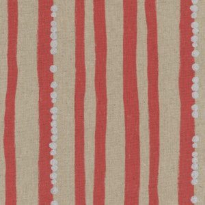 KOKKA - Echino - Stripe Red