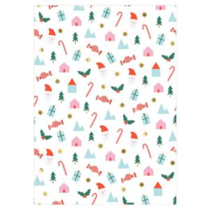 Meri Meri - Festive Icons Gift Wrap Roll
