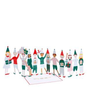 Christmas Elf Concertina Card