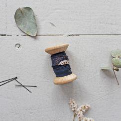 Atelier Brunette - Schrägband - Moonstone Blue