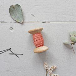 Atelier Brunette - Schrägband - Sparkle Melba Gold