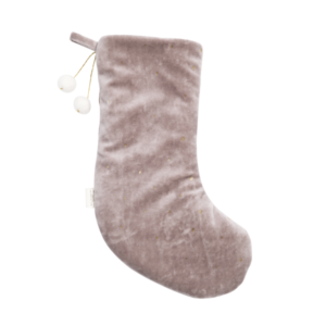 DREAMY CHRISTMAS STOCKING MAUVE