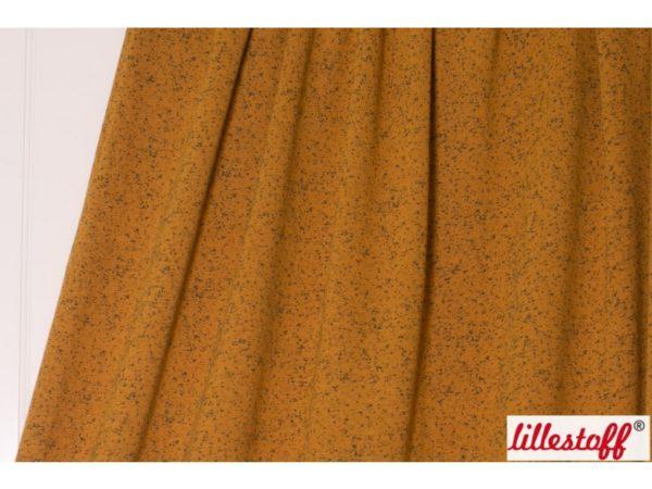 Lillestoff - Bio-Wolljersey Mysig Tid Nopes karamell