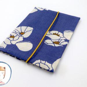 Mutterpasshülle - Blaue Blumen - Mutterpass Hülle