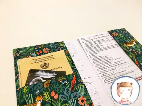 Mutterpasshülle - Dschungel - Mutterpass Hülle