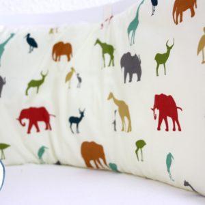 """Nestchen Babybay """"Serengeti"""" aus Biobaumwolle Babybay Babybett Nestchen LottiKlein"""