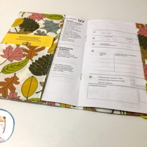 U-Heft Hülle - Blätter