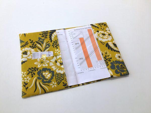 U-Heft Hülle - Sommerblumen
