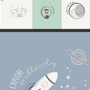 Art Gallery Fabrics - Stargazer - Astromagical Panel