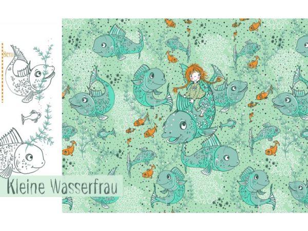 Lillestoff - Die kleine Wasserfrau