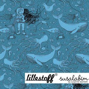 Lillestoff - Unterwasserliebe Jersey