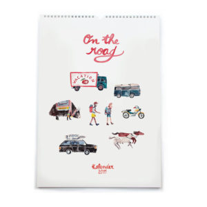 "Gretas Schwester - Kalender ""On the Road"" 2019"
