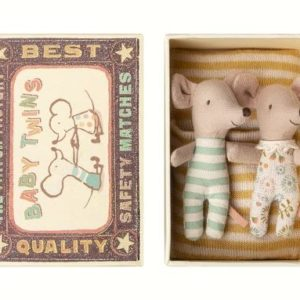 Maileg - Baby Twin Mice in Box