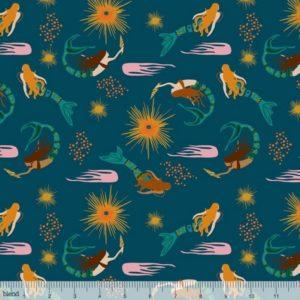 Blend Fabrics - Aquarius - Calypso Navy