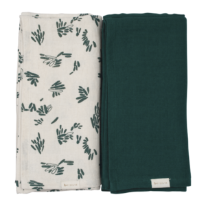 Fabelab - Swaddle - Printed and Solid Pack (Forest Floor)