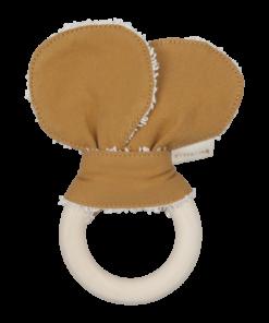 Fabelab - Animal Teether (bear ochre)