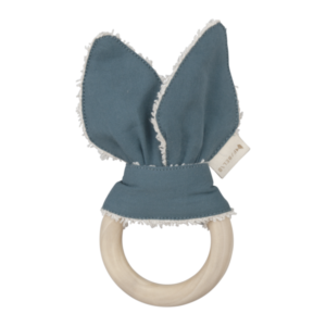 Fabelab - Animal Teether (bunny - icy grey)