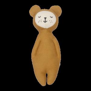 Fabelab - Soft Rattle (bear ochre)