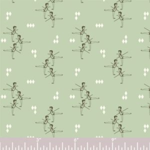 Birch Fabrics - Pirouette - Arabesque in mint