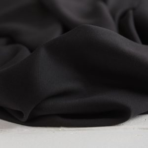 Meet Milk - Tencel Sanded Twill - Black