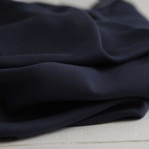 Meet Milk - Tencel Sanded Twill - Navy