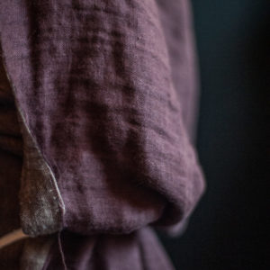 Merchant and Mills - Woolsey Oxblood EU Linen/Woo